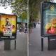 street panel advertising in London