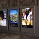 Outdoor Digital Advertising in station