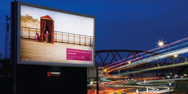 image showing a billboard advertisment